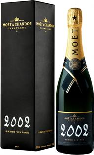 Moet & Chandon Champagne Brut Grand Vintage 2002 750ml